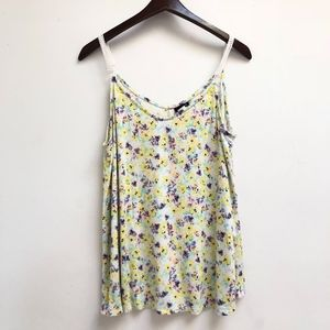 Floral Torrid tank top size 0X